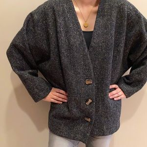 Vintage Élégance Paris Tweed Loose Blazer
